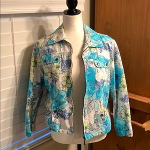 Drapers & Damon's Blue and Floral Jacket